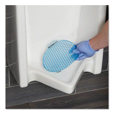 Georgia-Pacific 48260 ActiveAire Urinal Screens, Coastal Breeze Scent, Blue - 12 / Case