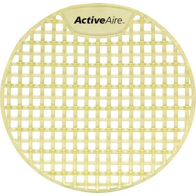 Georgia-Pacific 48275 ActiveAire Urinal Screens, Citrus, Yellow - 12 / Case