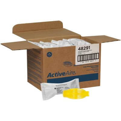 Georgia-Pacific 48291 ActiveAire Whole-Room Freshener Refill, Sunscape, Yellow - 12 / Case
