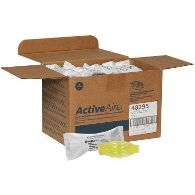 Georgia-Pacific 48295 ActiveAire Passive Whole-Room Freshener Refill, Citrus, Yellow - 12 / Case