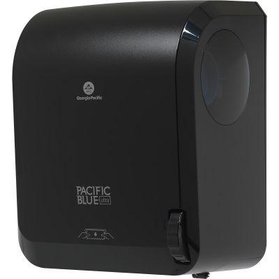 Georgia-Pacific 59589 Pacific Blue Ultra Mechanical Paper Hand Towel Dispenser, Black - 1 / Case
