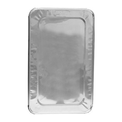 Glacier Lake GLFSL Aluminum Foil Lids for Full Size Steam Table Pans, 35 Gauge - 50 / Case