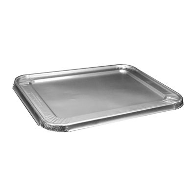 Glacier Lake GLHSL Aluminum Foil Lids for Half Size Steam Table Pans, 30 Gauge - 100 / Case