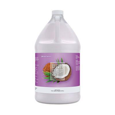 AlphaChemical 16289L41 Liquid Hand Soap, Velvet Colada Tropical Scent, 1 Gallon Bottle - 4 / Case