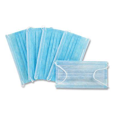 Face Masks, Disposable, Blue / White - 2000 / Case (MM005)