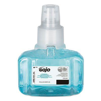GOJO 131603 Pomeberry Foam Hand Soap, 700 ml LTX-7 Refill - 3 / Case