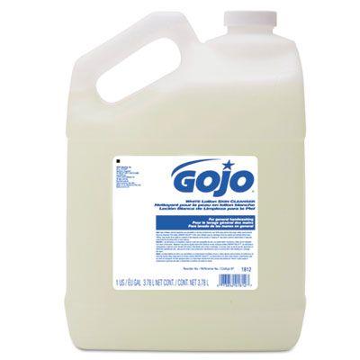 GOJO 181204 Liquid Lotion Hand Soap, Coconut Scent, 1 Gallon Bottle - 4 / Case