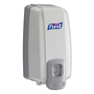 GOJO 212006 PURELL NXT Instant Hand Sanitizer Dispenser, 1000 mL, White / Gray - 6 / Case