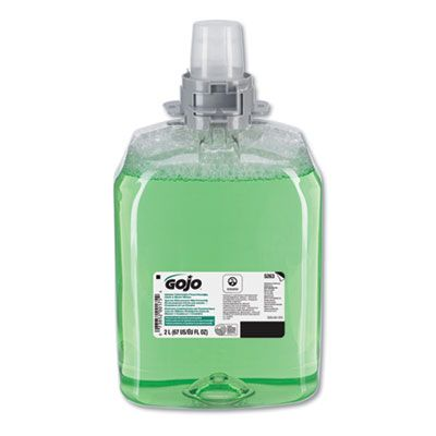 GOJO 526302 Foaming Hand, Hair & Body Wash, Green Certified, Cucumber Melon, 2000 ml - 2 / Case