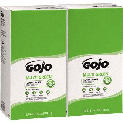 Gojo 756502 Multi Green Hand Cleaner Refill, 5000 ml TDX 5000 Refill - 2 / Case