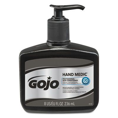 GOJO 814506 Hand Medic Professional Skin Conditioner, 8 oz Pump Bottle - 6 / Case