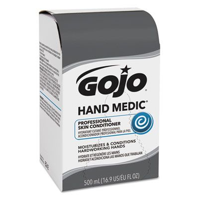 GOJO 8242 Hand Medic Professional Skin Conditioner, 500 mL Refill - 6 / Case