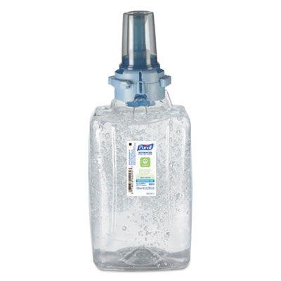 GOJO 880303 PURELL Advanced Instant Hand Sanitizer Gel, Green Certified, 1200 ml ADX-12 Refill - 3 / Case