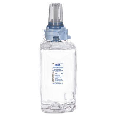 GOJO 880403 PURELL Advanced Instant Hand Sanitizer Foam, Green Certified, 1200 ml ADX-12 Refill - 3 / Case