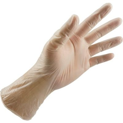 Ultragard V3000IS Synthetic PVC Gloves, Powder Free, 4 Mil, Small - 1000 / Case