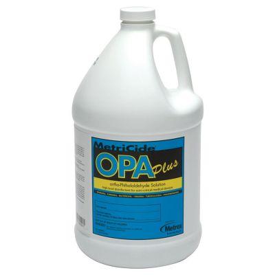 Metrex Research 10-6000 MetriCide OPA Plus High-Level Disinfectant, RTU Liquid, 1 Gallon Bottle - 4 / Case