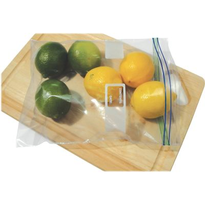 """Heritage J1315WC 2 Gallon Reclosable Food / Utility Bags, 1.75 Mil, 13"""" x 15"""", Clear - 100 / Case"""