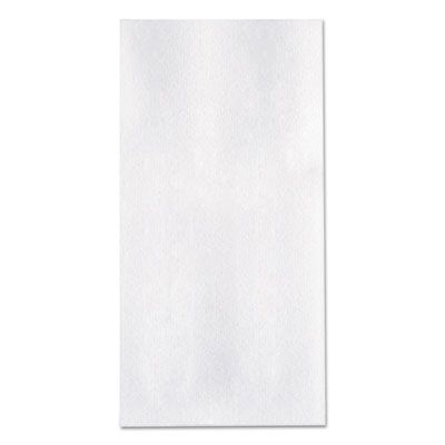 Hoffmaster 66038 Linen-Like Dinner Napkins, 1/8 Fold, White - 300 / Case
