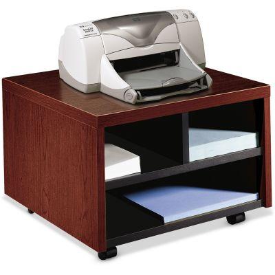 "The HON Company 105679NN 10500 Series Mobile Printer / Fax Cart, 20"" x 19-7/8"" x 14-1/8"", Mahogany - 1 / Case"