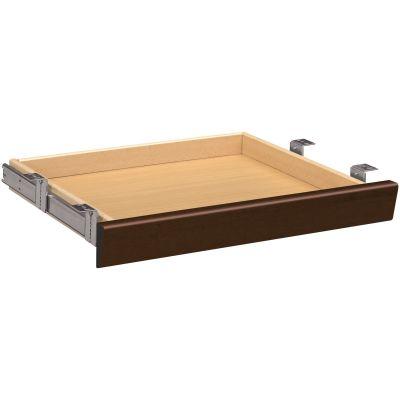 "The HON Company 1522MO Center Desk Drawer, 22"" x 15"" x 2-1/2"", Mocha Laminate - 1 / Case"