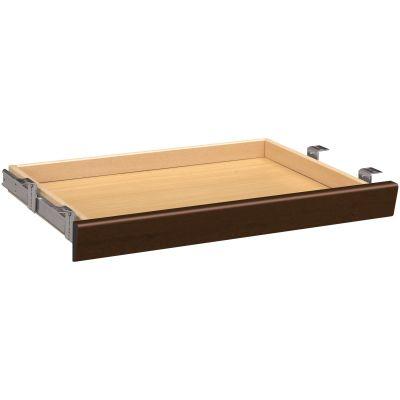 "The HON Company 1526MO Center Desk Drawer, 26"" x 15"" x 2-1/2"", Mocha Laminate - 1 / Case"