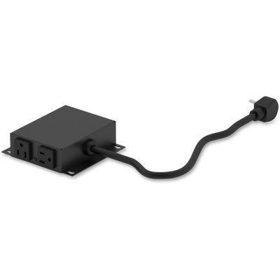 The HON Company HPWRMOD2 Coordinate Module Power Outlet, Black - 1 / Case