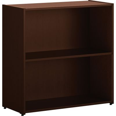 "The HON Company LL1330B2MOCH 101 Bookcase with 2 Shelves, 29-3/4"" x 13"" x 29-1/2"", Mocha - 1 / Case"