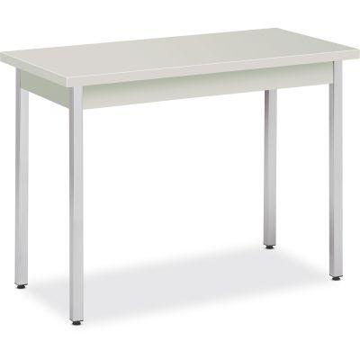 "The HON Company UTM2040LOLOC Utility Table, Metal, 40"" x 20"" x 29"", Loft Top / Chrome Legs - 1 / Case"