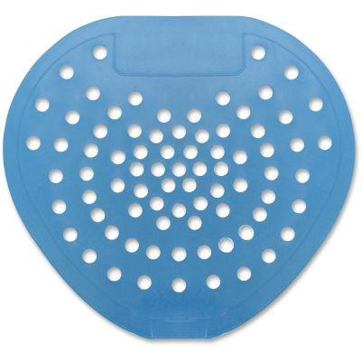 Hospeco 3904 Vinyl Urinal Screens, Mint Scent, Blue - 12 / Case