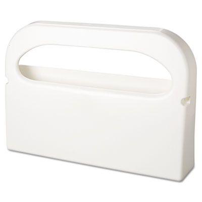 Hospeco HG12 Dispenser for Half-Fold Toilet Seat Covers, White - 2 / Case