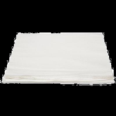 """Hospeco NLRVDFBW TASKBrand TopLine Linen Replacement Dinner Napkins, 16"""" x 16"""", White - 1000 / Case"""