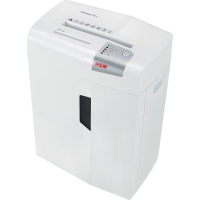 HSM 1030W Shredstar X17 Cross-Cut Shredder, 17-Sheet Capacity, White - 1 / Case