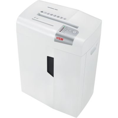 HSM 1051W Shredstar X20 Cross-Cut Shredder, 20-Sheet Capacity, White - 1 / Case