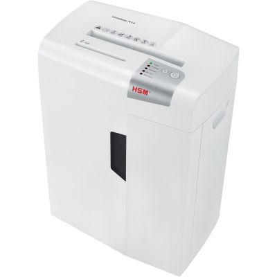 HSM 1057W Shredstar X14 Cross-Cut Shredder, 14-Sheet Capacity, 6.1 Gallon Bin, White - 1 / Case