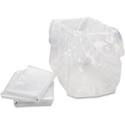 "HSM 1310 11 Gallon Shredder Bags for HSM Models, 13"" x 10"" x 24"", Clear - 100 / Case"