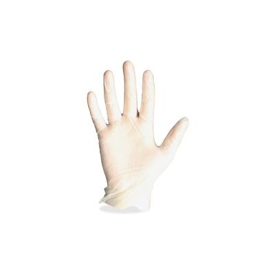 Impact 8961L Protected Chef Vinyl Disposable Gloves, Powder-Free, Large, Clear - 1000 / Case
