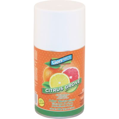 Impact 325O Air Freshener for Metered Dispenser, Citrus Grove, 6.35 oz - 12 / Case