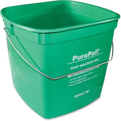 Impact 550614C PuraPail Utility Cleaning Bucket, 6 Quart - 12 / Case
