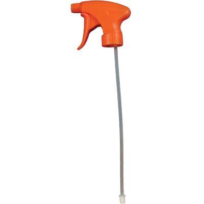 Impact 5704 Trigger Sprayer for 24, 32 oz Bottles, Orange - 250 / Case