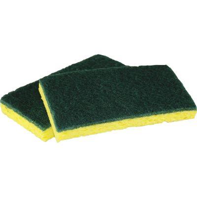 Impact 7130P Scrubber Sponge, Green / Yellow - 40 / Case