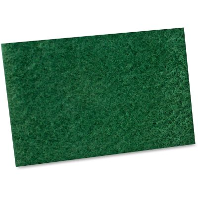 "Impact 7135B Scouring Pads, 6"" x 9"", Green - 60 / Case"