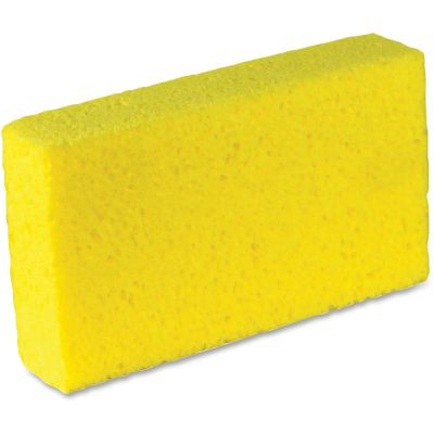 Impact 7180P Yellow Sponges, Cellulose - 24 / Case