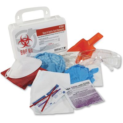 Impact 7351 ProGuard Bloodborne Pathogen Clean-Up Kit - 1 / Case