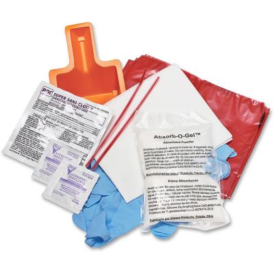 Impact 7351KSPR Bloodborne Pathogens Clean Up Kit - 20 / Case
