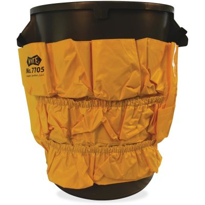 Impact 7705 Caddy for 32 & 44 Gallon Gator Containers, Water-Resistant Vinyl, Yellow - 1 / Case
