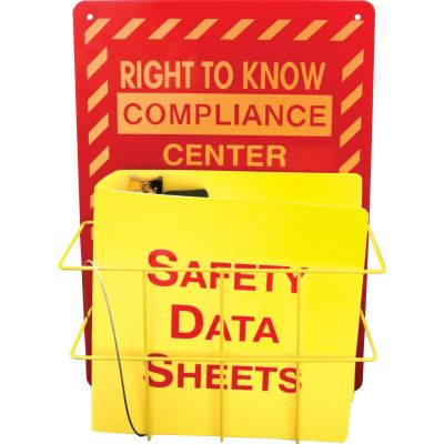 Impact 799200 Rack for SDS (Safety Data Sheets) - 1 / Case
