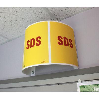 Impact 799311 SDS (Safety Data Sheet) Station Sign - 1 / Case