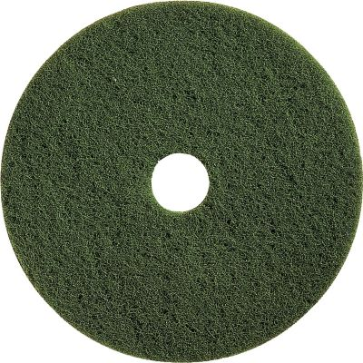 "Impact 90316 Floor Scrubbing Pad, 16"", Green - 5 / Case"