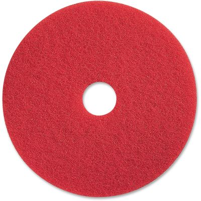 """Impact 90418 Floor Spray Buffing Pad, 18"""", Red - 5 / Case"""