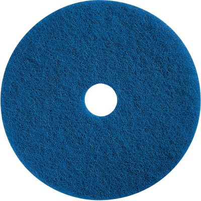 "Impact 90617 Floor Cleaning Pad, 17"", Blue - 5 / Case"